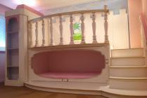 Allround deco kinderbedden decoratie allround deco - Deco slaapkamer baby meisje ...